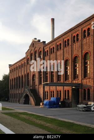 Maschinenhalle der ehemaligen Zeche Zweckel, Veranstaltungsort der Ruhrtriennale, Gladbeck, Ruhr Gebiet, North Rhine - Stockfoto