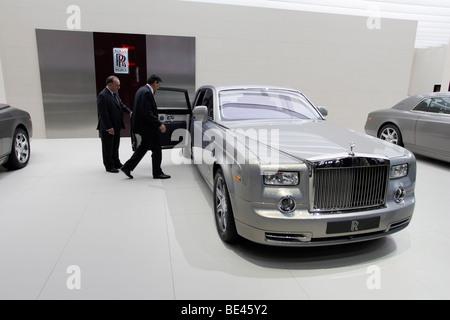 63. internationalen Automobil-Ausstellung (IAA): Präsentation des Automobilherstellers Rolls-Royce - Stockfoto