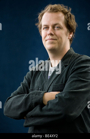 Tom Parker Bowles an das Edinburgh International Book Festival 2009, Scotland.UK Stockfoto