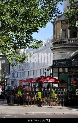 Capricciosa-Brasserie, Cromwell Road, Kensington, Royal Borough of Kensington und Chelsea, London, England, Vereinigtes - Stockfoto