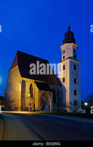 Pfarrkirche Mariae Heimsuchung Maria Heimsuchung, Zell am bin Pettenfirst, Oberösterreich, Europa - Stockfoto