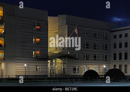 Amerikanische Botschaft am Pariser Platz-Platz, Berlin, Deutschland, Europa - Stockfoto