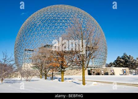 Biosphäre Ile Sainte Helene Montreal Kanada - Stockfoto