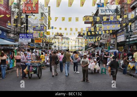 Khao San Road in Bangkok, Thailand - Stockfoto