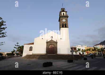 Kirche in Buenavista del Norte, Kanarische Inseln-Teneriffa, Spanien - Stockfoto