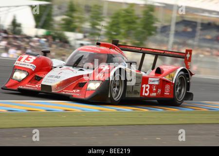 24 Stunden von Le Mans 2009 - Lola Aston Martin N ° 13 - Stockfoto