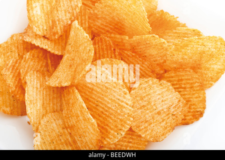 Chili-chips - Stockfoto