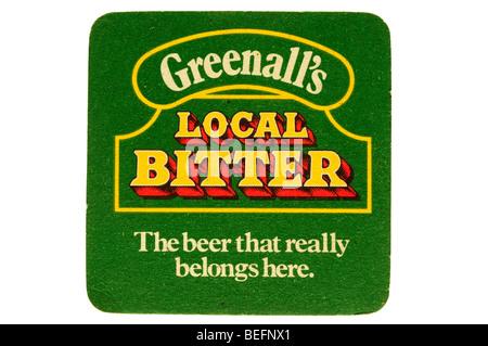 Greenalls lokale Bitter das Bier, dass wirklich hierher gehört - Stockfoto