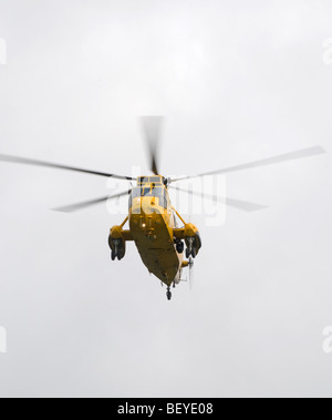 RAF Seaking Hubschrauber im Schwebeflug-Modus. SCO 5437 - Stockfoto