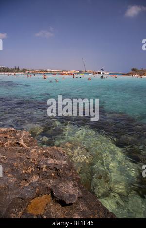 Strand Nissi Beach Agia Napa Zypern Griechenland