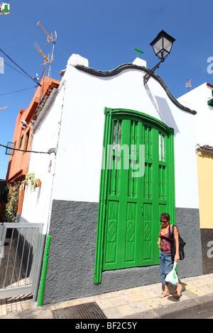 Reisefotografie Puerto De La Cruz, Teneriffa, Kanarische Inseln, Spanien - Stockfoto