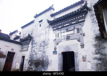 Gut Perserved Hui Stilhaus in Hongcun Dorf, Provinz Anhui, China - Stockfoto