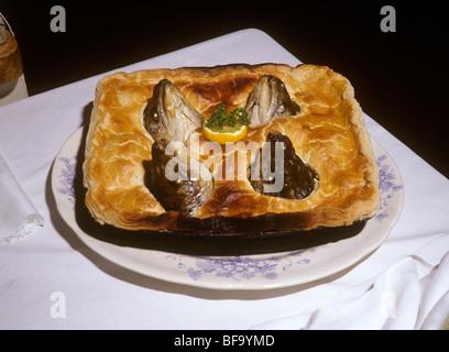 Großbritannien, England, Staffordshire, Stafford, Shugborough Haus viktorianische Küche, Sterne Gazy Torte - Stockfoto
