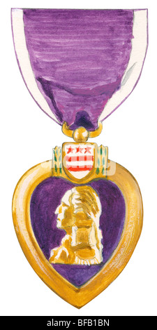 Purple Heart - Stockfoto