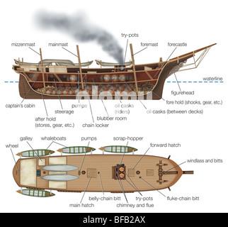 Walfang-Boot - Stockfoto