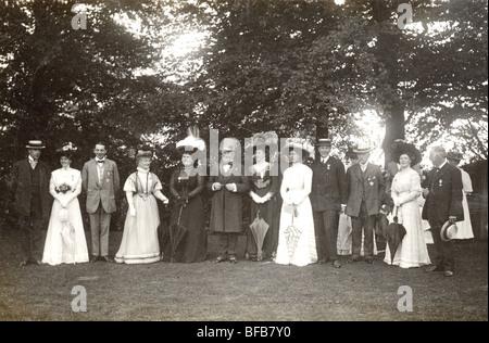 Primrose League Fete im Abbey Manor - Stockfoto