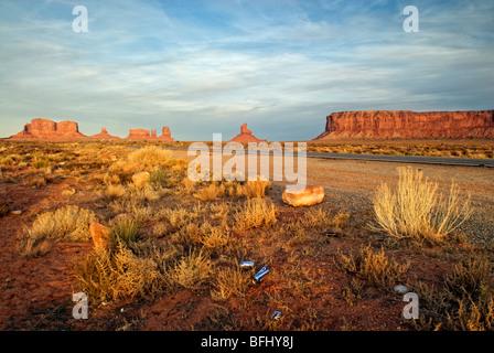Monument Valley, Arizona, Vereinigte Staaten von Amerika - Stockfoto