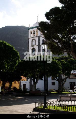 Straße in der Stadt Garachico Teneriffa auf den Kanarischen Inseln - Stockfoto