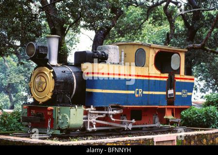 MBT 62614: Matheran Mini Spielzeug Zug Dampfmaschine; Matheran; Maharashtra; Indien - Stockfoto