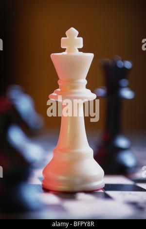 Schachfigur König - Stockfoto