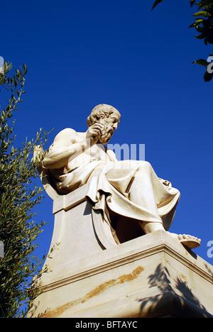 Sokrates Sokrates geistiger Vater der hellenistischen Philosophie. 469 399 v. Chr. Griechenland Griechisch - Stockfoto