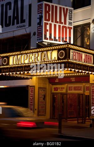 Broadway-Theater Festzelt, NYC - Stockfoto