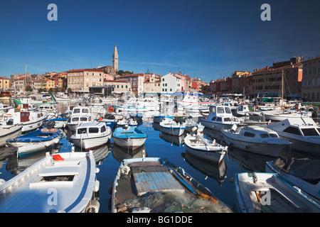 Rovinj Harbour-Istrien-Kroatien - Stockfoto