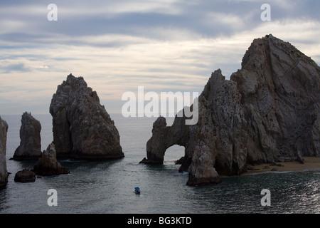 Landet, Ende, Cabo San Lucas, Baja California, Mexiko, Nordamerika - Stockfoto