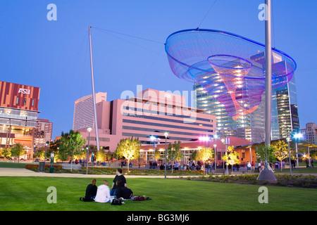 Civic Space Park, Phoenix, Arizona, Vereinigte Staaten von Amerika, Nordamerika - Stockfoto