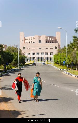 Indian School of Business, Hi-Tech City, Hyderabad, Andhra Pradesh Zustand, Indien, Asien - Stockfoto