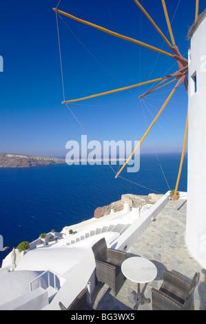 Oia, Santorin, Kykladen, griechische Inseln, Griechenland, Europa - Stockfoto
