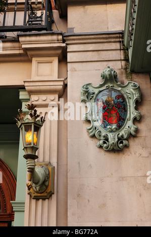 Detail im Fortnum und Mason Store im West End von London - Stockfoto