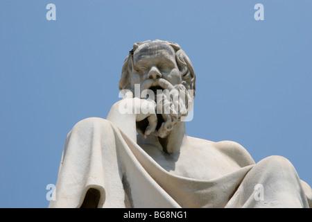 Sokrates (469-399 v. Chr.). Klassischer griechischer Philosoph. - Stockfoto