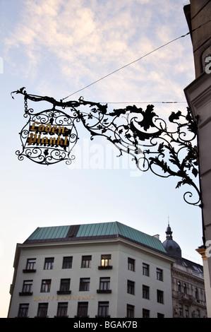 Lodenplankl, Wien, Österreich - Stockfoto
