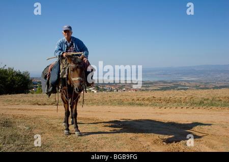 Griechenland Mazedonien Laggadas - Stockfoto