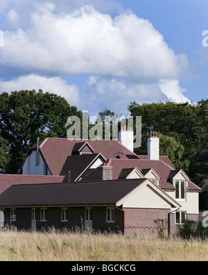 Freistehendes Haus Außenansicht - Stockfoto