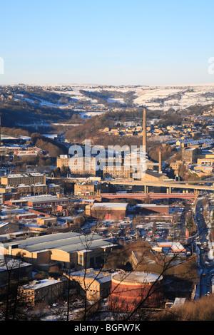 Dean Clough, Halifax, West Yorkshire, England, UK. - Stockfoto