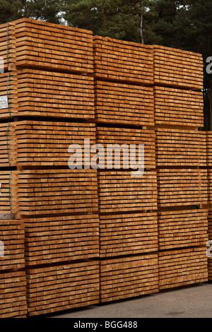 Holz und Zäune Zubehör - Stockfoto
