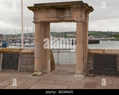 Mayflower Steps, Plymouth, Devon, England - Stockfoto