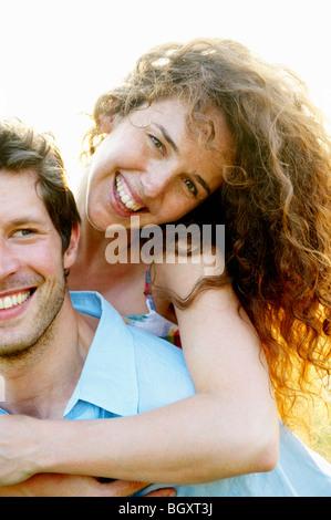 Mann mit Frau - Stockfoto