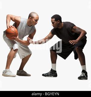 Zwei Basketball-Spieler - Stockfoto