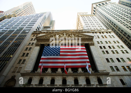 Börse New York, New York City, USA - Stockfoto