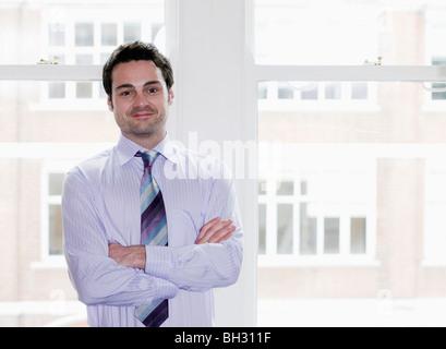 Porträt eines Geschäftsmannes. - Stockfoto