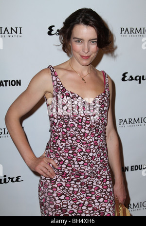 OLIVIA WILLIAMS eine Bildung LOS ANGELES PREMIERE HOLLYWOOD LOS ANGELES CA USA 1. Oktober 2009 - Stockfoto