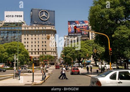 Buenos Aires Avenida 9 de Julio Avenue Argentinien - Stockfoto