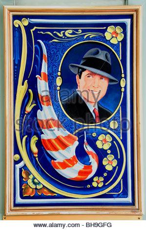 Buenos Aires Avenida Avenue Florida Argentinien Carlos Gardel - Stockfoto