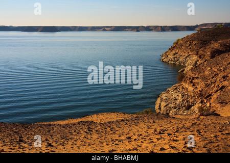 Abu Simbel Tempel Afrika Ägypten Lake Nasser See - Stockfoto