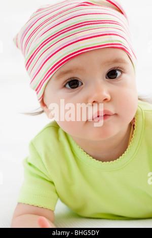 Baby Mädchen Porträt - Stockfoto