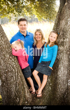 Family Portrait - Stockfoto