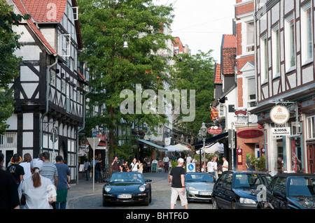 Magniviertel Braunschweig Niedersachsen Deutschland